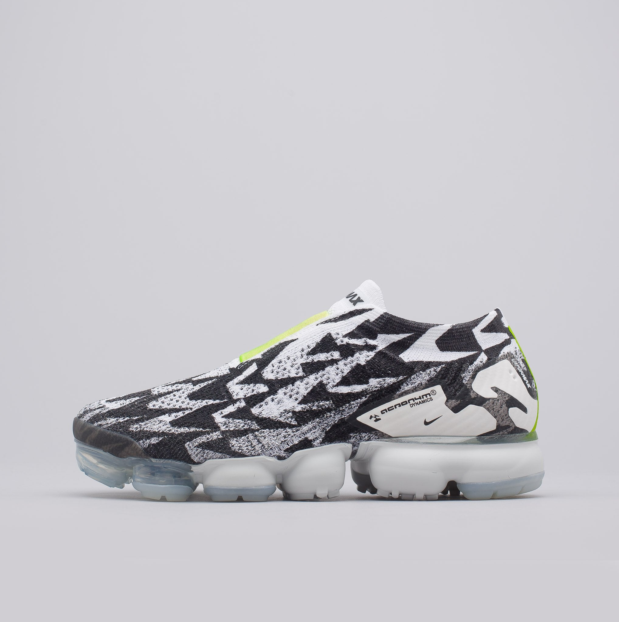promo code 98ca3 945b2 Acronym Air Vapormax FK Moc 2 in Light BoneVolt Green - PZOZO