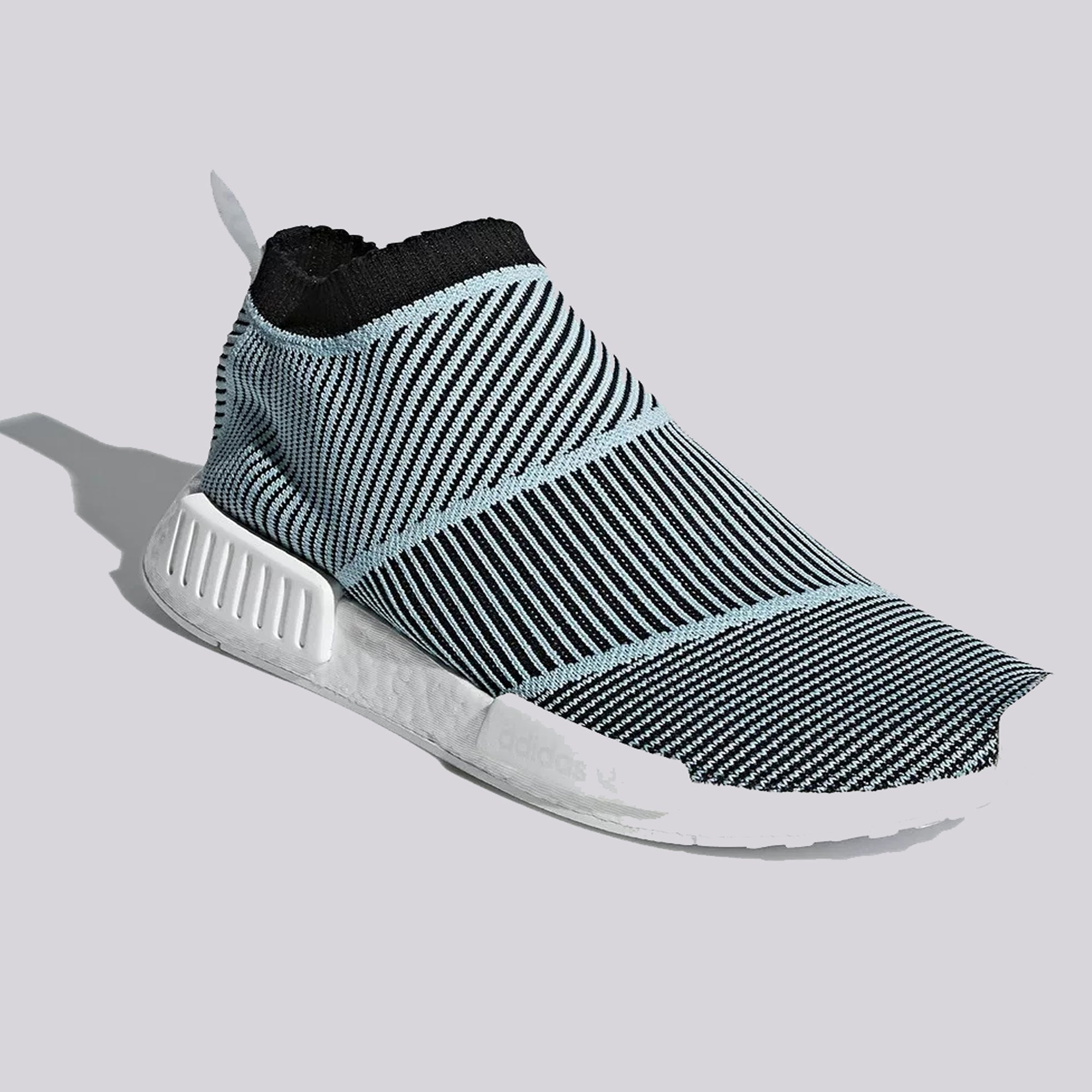 0d8be7629adc5 NMD City Sock CS1 Parley Primeknit in Core Black Blue – PZOZO