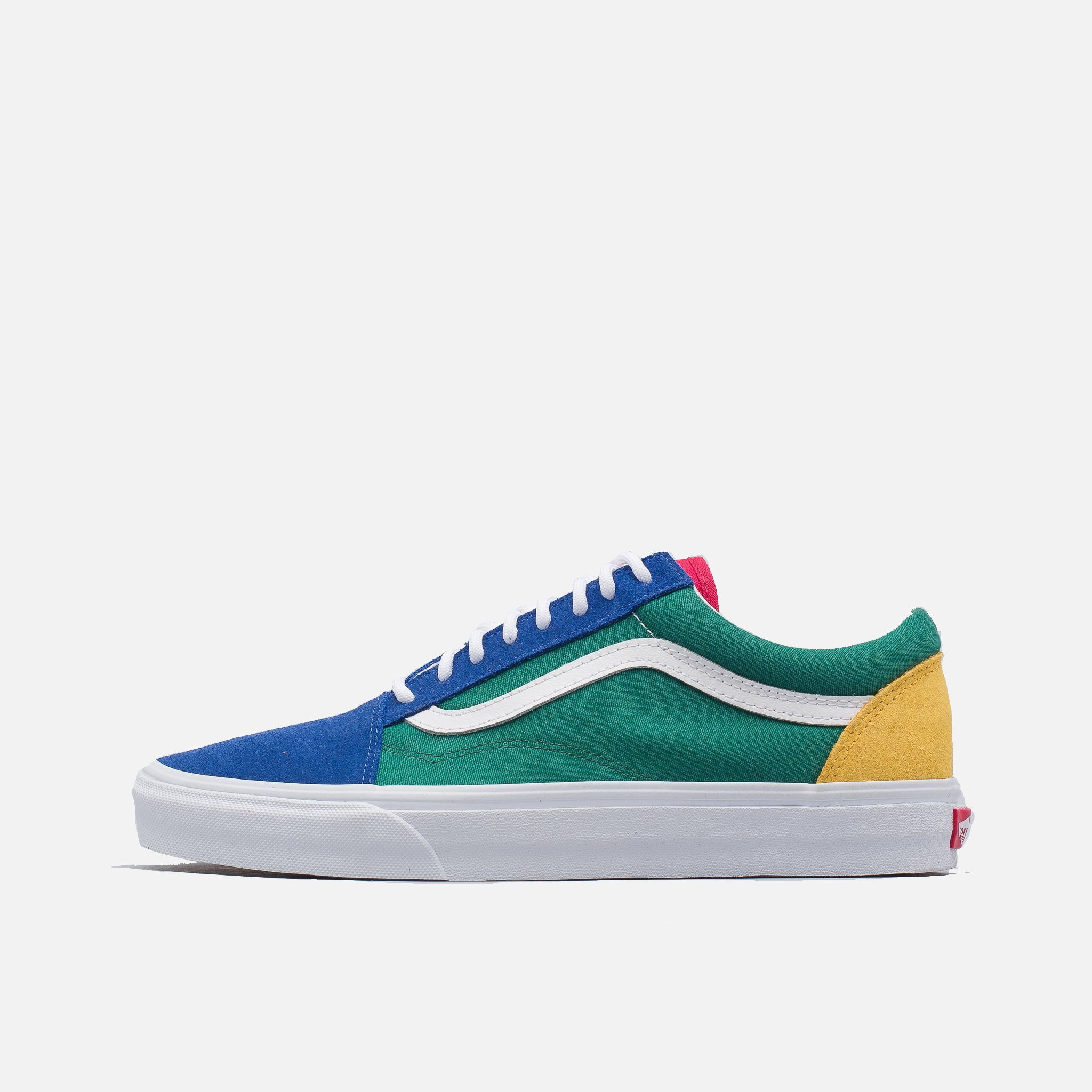 447ee2a87089 Yacht Club Old Skool in Blue Green Yellow – PZOZO
