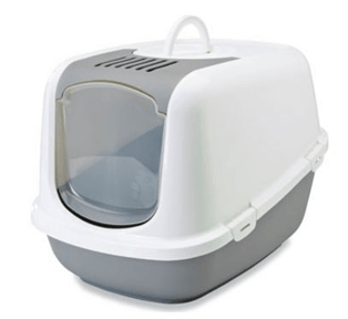Savic Nestor Jumbo Hooded Litter Tray - My Cat and Co.
