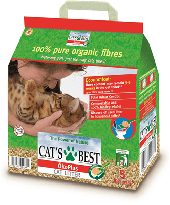 Cat's Best Organic Clumping Litter - My Cat and Co.