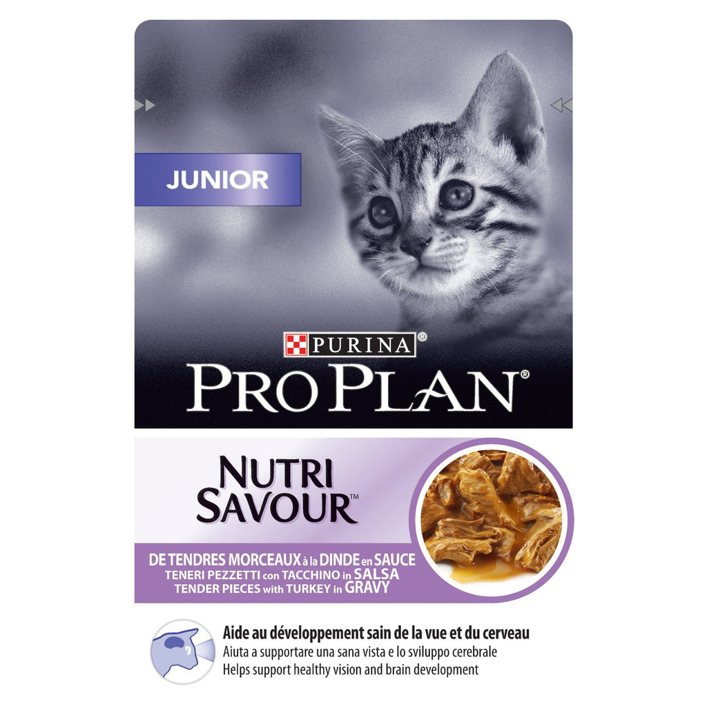 PRO PLAN Wet Junior Cat Turkey 85g - My Cat and Co.