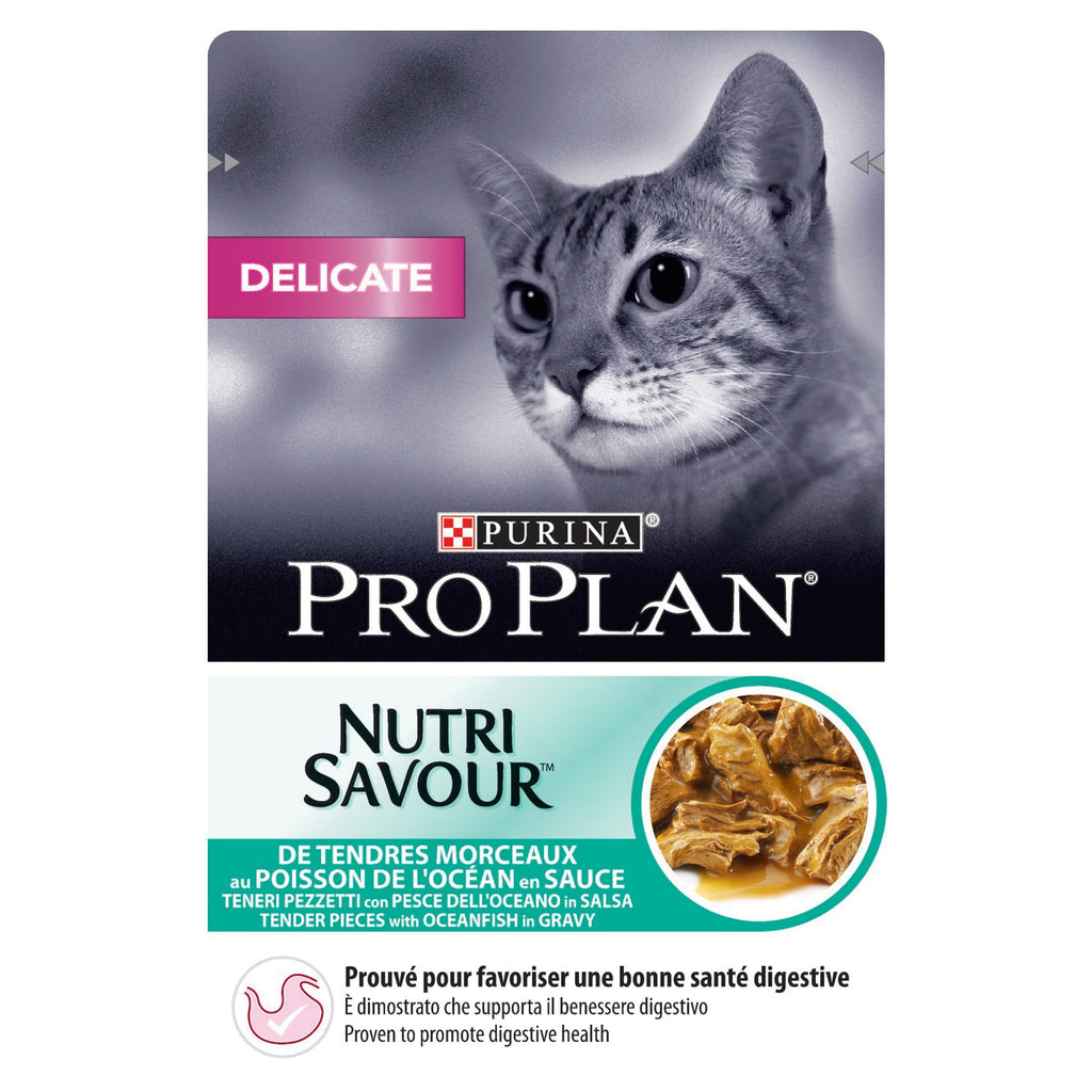 PRO PLAN Wet Delicate Cat with Fish 85g - My Cat and Co.
