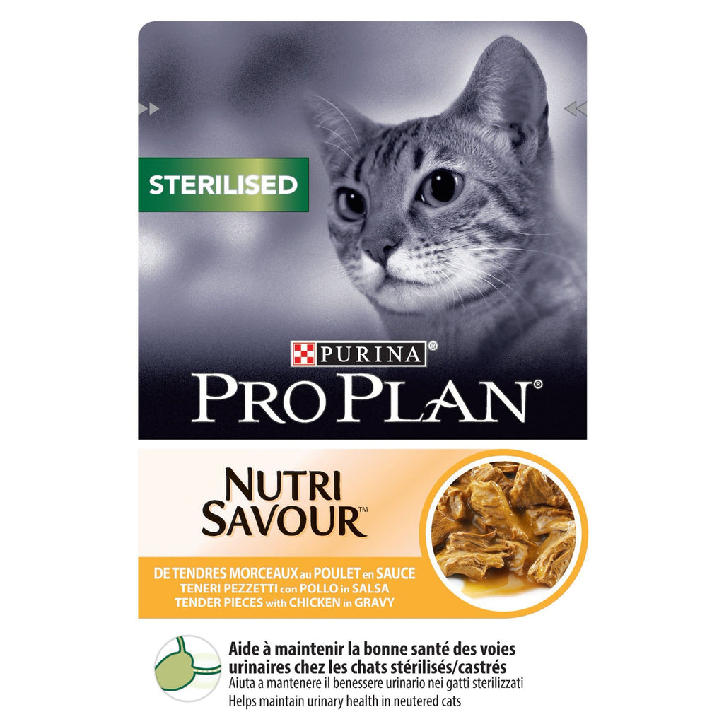 PRO PLAN Wet Sterilised Cat with Chicken 85g - My Cat and Co.