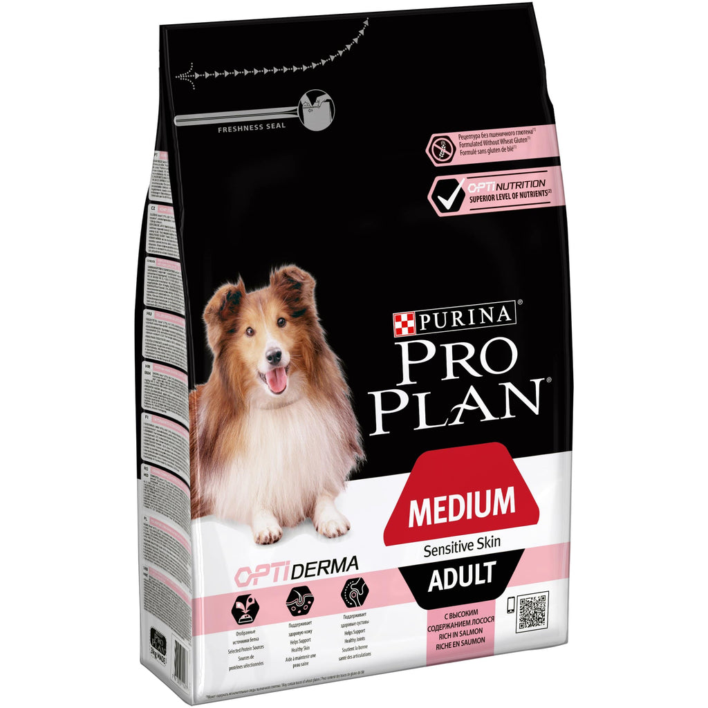 PRO PLAN Medium Adult Sensitive Skin with Salmon - My Pooch and Co.