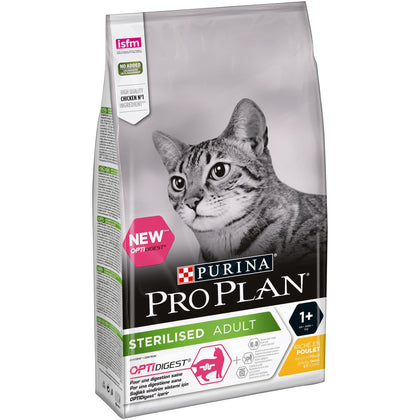PRO PLAN Sterilised Cat with Chicken - My Cat and Co.