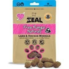 ZEAL Dried Lamb & Venison Morsels (Cat)100g - My Cat and Co.