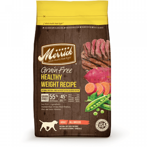 MERRICK Grain Free Healthy Weight Recipe - My Pooch and Co.