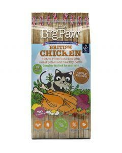 LITTLE BIG PAW British Chicken for Adult Cats - My Cat and Co.