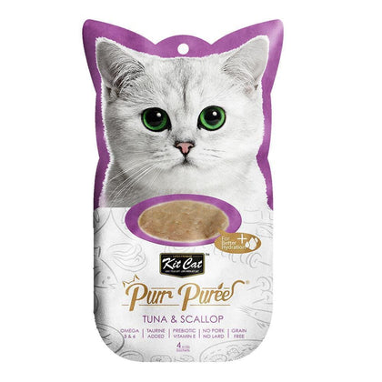 Purr Puree 4 Sachets Various Flavours - My Cat and Co.