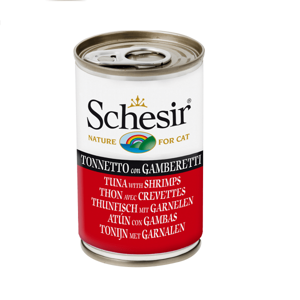 Schesir Wet Food in 140g can Various Flavours - My Cat and Co.
