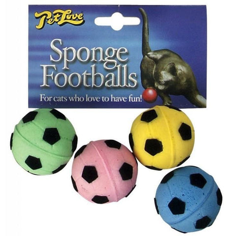 MIKKI Sponge Footballs - My Cat and Co.
