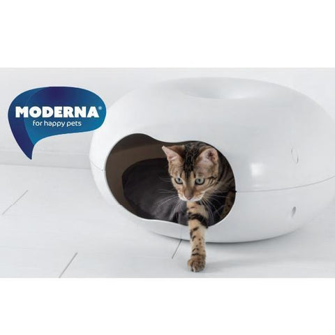 MODERNA Donut Shape Cat House - My Cat and Co.