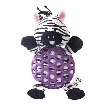 Zebra with rubber net - My Pooch and Co.
