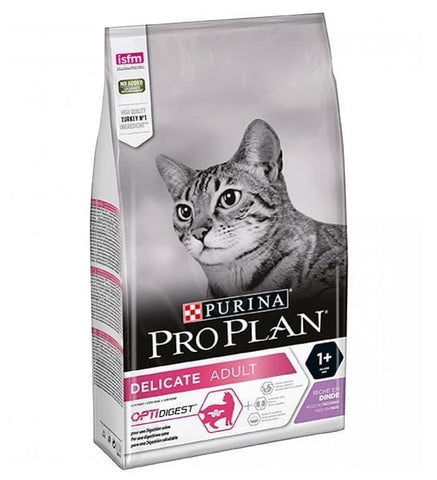 PRO PLAN Delicate Adult with Turkey 1.5kg - My Cat and Co.