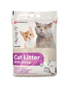 Flamingo Cat Litter Blend 15kg - My Cat and Co.