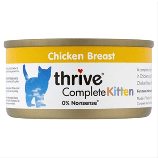 Thrive Complete Kitten Chicken 75g - My Cat and Co.