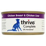THRIVE Cat Food Chicken/ Liver 75g - My Cat and Co.