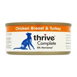 THRIVE Cat Food Chicken/Turkey 75g - My Cat and Co.