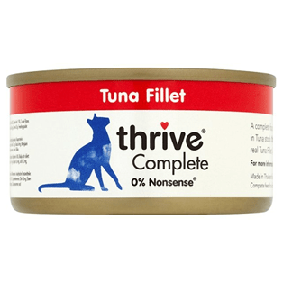 Thrive Complete Tuna Fillet 75g - My Cat and Co.