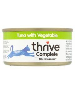 THRIVE Cat Tuna with Vegetable 75g - My Cat and Co.