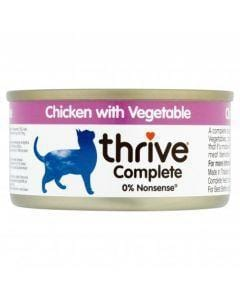 Thrive Complete Cat Chicken w/ Vegetable Wet Food - My Cat and Co.