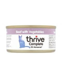 THRIVE Cat Beef with Vegetable 75g - My Cat and Co.