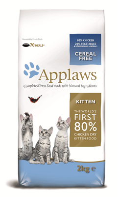 APPLAWS Kitten Chicken 2kg - My Cat and Co.