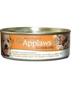 APPLAWS Dog Chicken with Duck in Jelly 156g - My Pooch and Co.