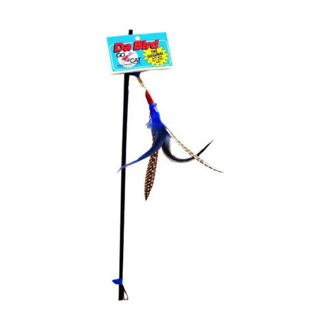 GOCAT Da Bird Pull Apart Rod and Bird Cat Feather Toy - My Cat and Co.