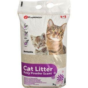 Flamingo Cat Litter Baby Powder - My Cat and Co.