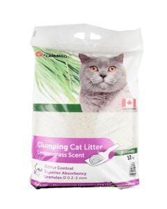 Cat Litter Lemongrass 12kg - My Cat and Co.