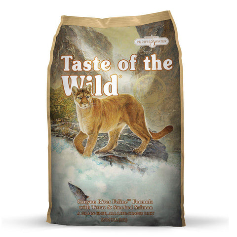 Taste Of The Wild Canyon River Feline Formula - My Cat and Co.