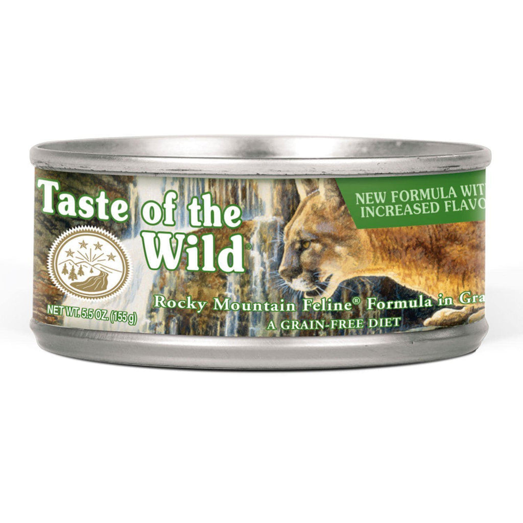 Taste Of The Wild Rocky Mountain Feline 85g tin - My Cat and Co.