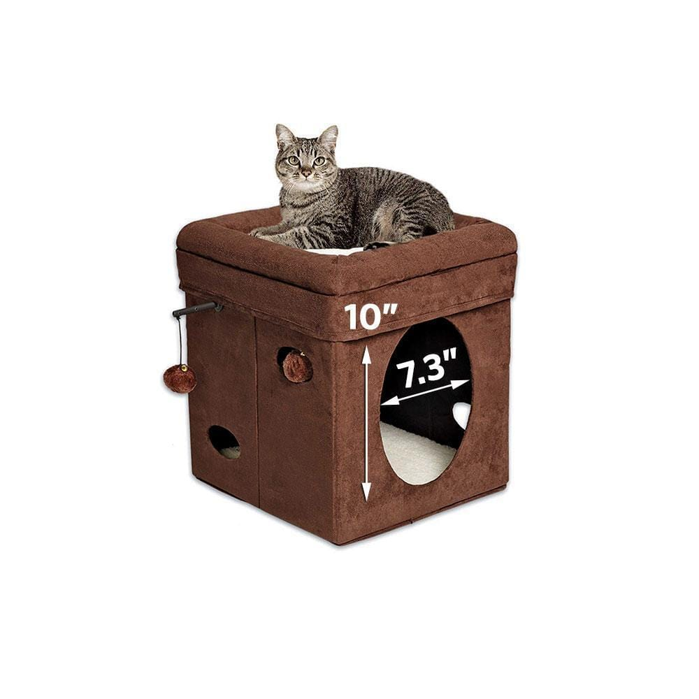 MIDWEST HOMES Curious Cat Cube - My Cat and Co.