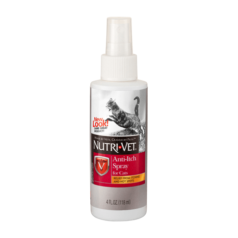 NutriVet Anti-Itch Spray for Cats - My Cat and Co.