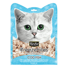 KITCAT Freezebites Dried Codfish 15g - My Cat and Co.