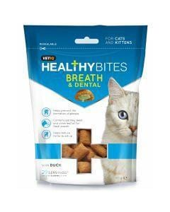 M&C Healthy Bites Breath and Dental Cats/Kittens - My Cat and Co.