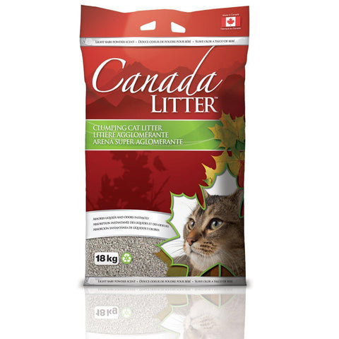 Canada Litter Clumping Litter Baby Powder - My Cat and Co.