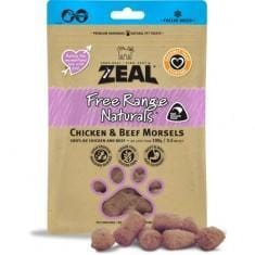 ZEAL Dried Chicken & Beef Morsels (Cat)100g - My Cat and Co.