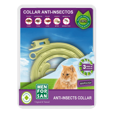 MEN FOR SAN Anti-insect collar - My Cat and Co.