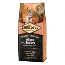 CARNILOVE Salmon & Turkey For Large Breed Puppies - My Pooch and Co.