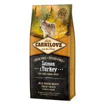 CARNILOVE Salmon & Turkey For Large Breed Adult Dogs - My Pooch and Co.