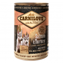 CARNILOVE Salmon & Turkey For Puppies 400g - My Pooch and Co.
