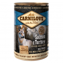 CARNILOVE Salmon & Turkey For Adult Dogs 400g - My Pooch and Co.