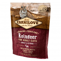 CARNILOVE Adult with Reindeer 400g - My Cat and Co.