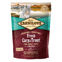 CARNILOVE Adult with Carp and Trout 400g - My Cat and Co.