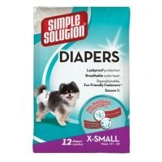 SIMPLE SOLUTIONS Disposable Diapers - My Pooch and Co.