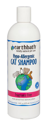 Earthbath Hypo-Allergenic Cat Shampoo Fragrance Free - My Cat and Co.