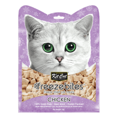 KITCAT Freezebites Dried Chicken 15g - My Cat and Co.